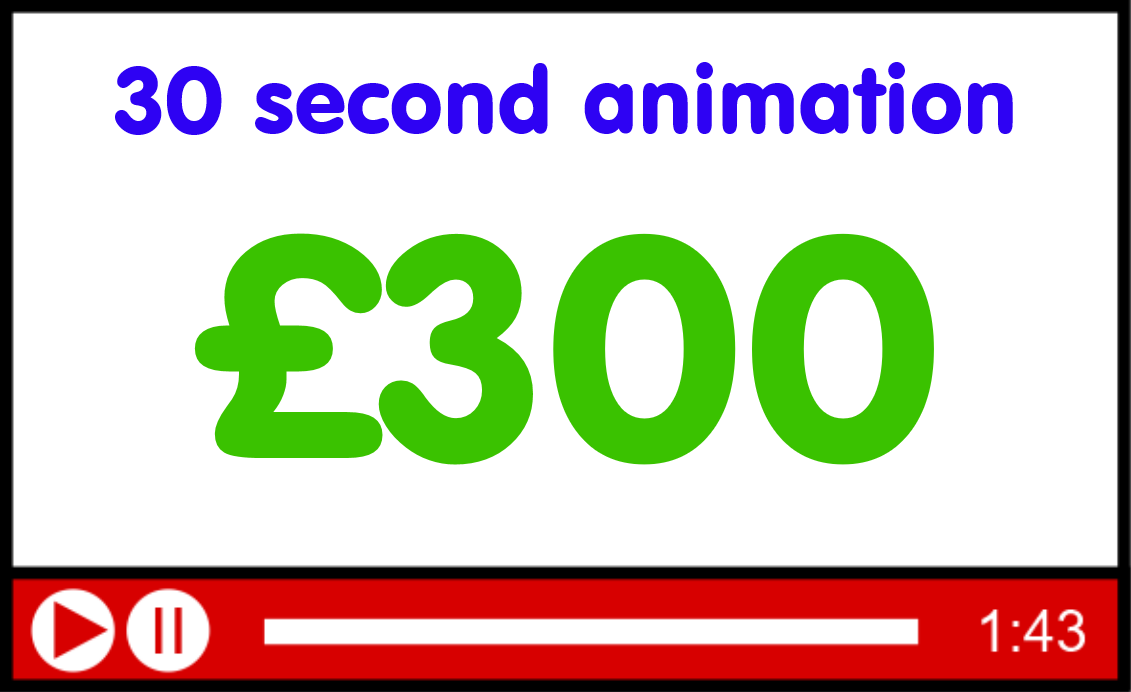 30 second animation £270